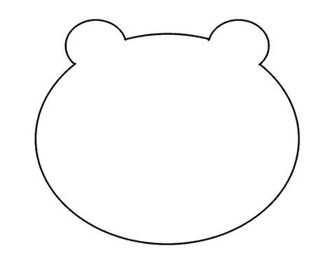 300 crafts for kids fuzzy polar bear template polar