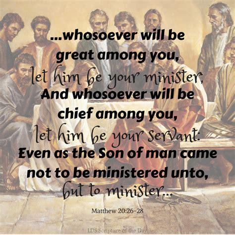 lds scripture   day matthew