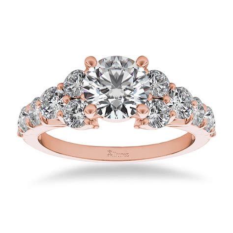 Luxury Engagement Rings by Engagement Ring Luxury Setting 14k Gold 1