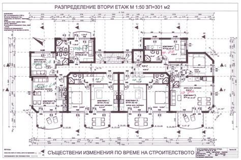 architectural floor plan balchik bay apartments