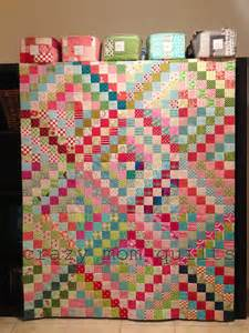 quilts chopped rhubarb quilt top