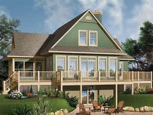 Waterfront Home Designs by Plan 027h 0104 Find Unique House Plans Home Plans And