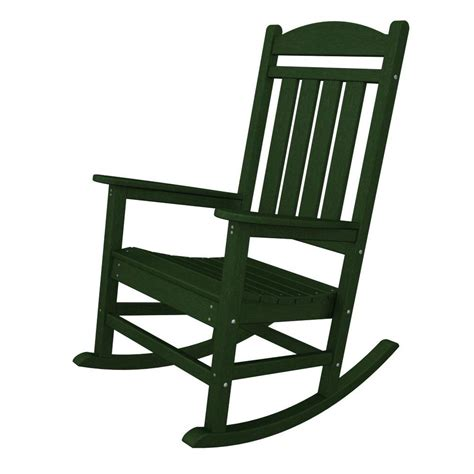 white outdoor rocking chair home depot terrace classics white patio rocker ivr100wh the
