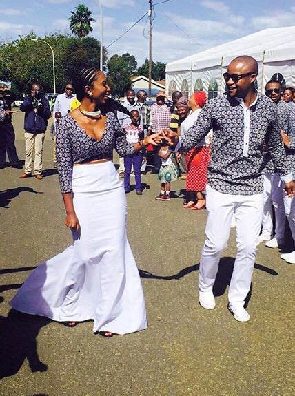 modern venda traditional wedding dress sunikacoza african bride and groom in shweshwe attire also known as