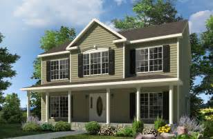 2 Story House by Morris Two Story Style Modular Homes