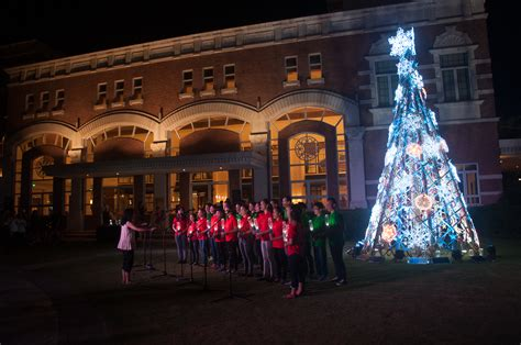 tree lighting song enderun colleges lights up its eco friendly and sustainable tree ink enderun