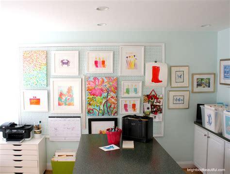 Creative Ideas For Office 6 Creative Pegboard Ideas Contemporary Home Office Richmond By Trevey