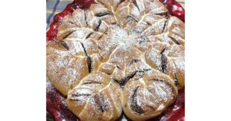 fiore di brioche con nutella bimby fior di panbrioche alla nutella by maross on www