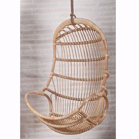 rattan swing chair singapore sandra hanging rattan swing chair with cushion hemma