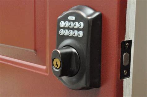 Schlage Door Keypad Change Code by Front Door Keypads Schlage Vs Kwikset One Project Closer