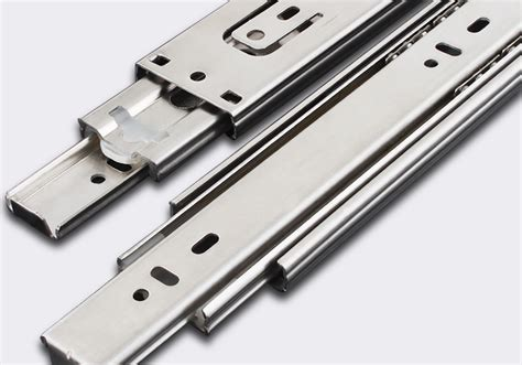 Cabinet Gide by Thick Cabinet Drawer Track Three Rail Row Bearing