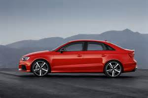 2017 audi rs 3 sedan unveiled with 294kw 5 cyl engine