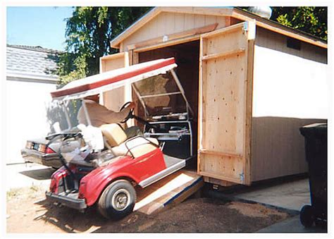 Golf Cart Shed by Golf Cart Storage Shed Plans Greenhouse Planters
