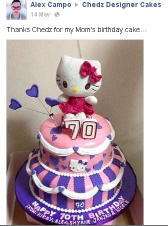 Promo Premium Silikon Hellokitty Mustache chedz cakes of cebu customer stories