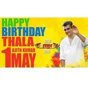 Happy Birthday Ajith  Vivegam New Poster Thala Ajiths