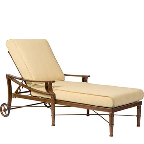 chaise lounge discount woodard 590470 arkadia cushion adjustable chaise lounge