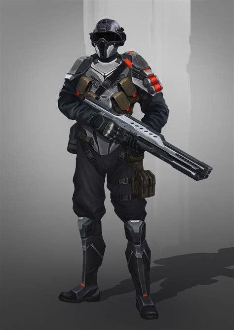 Future Warrior lena zykova near future soldier