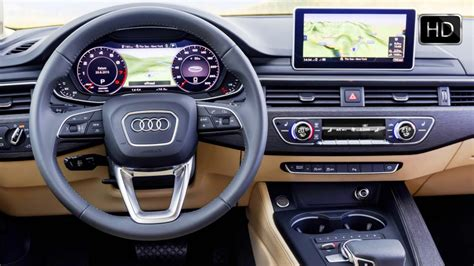 audi a4 2016 interior 2016 audi a4 sedan quattro b9 generation interior design