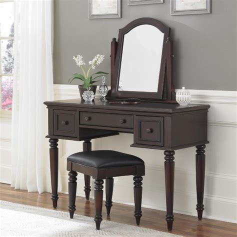 cheap bedroom vanities vanity modern white wooden dressing with framed mirror