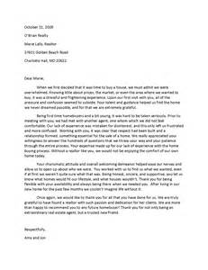Real Estate Referral Letter by Real Estate Recommendation Letter Letter Of Recommendation