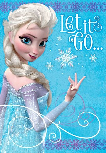 frozen printable greeting card frozen elsa let it go birthday card greeting cards