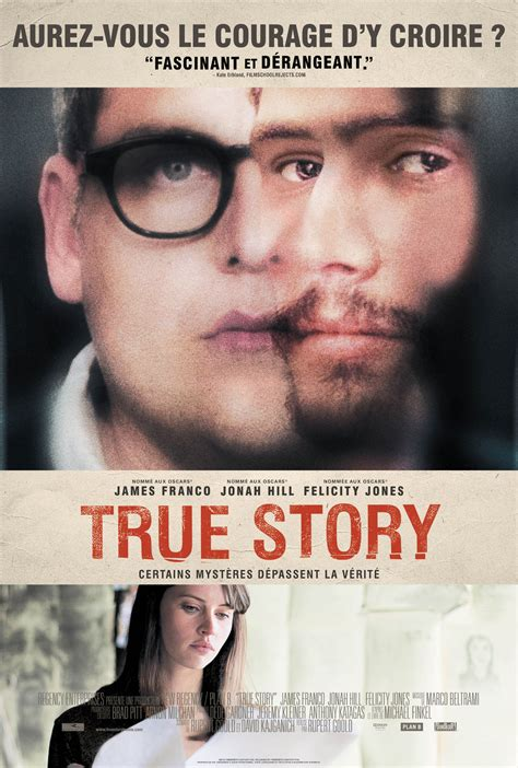 Film With True Story | affiche du film true story affiche 1 sur 2 allocin 233