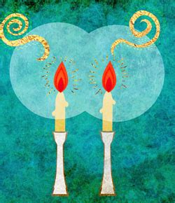 why light two or more shabbat candles shabbat