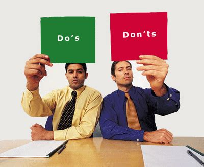 20 Dos And Donts Of A Date by Dos And Don Ts When Raising Venture Capital For The