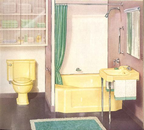 old bathroom decorating a yellow bathroom color history and ideas from