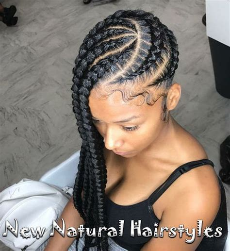 hairstyles braids to the side 10 lovely braided hairstyles for black women to wear