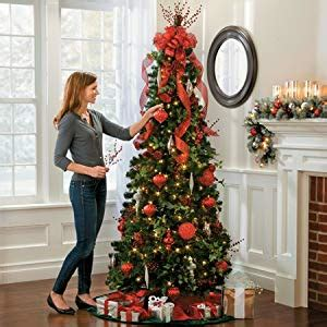 collapsible christmas trees pull up pre lit noble pine pull up tree 6 1 2 collapsible pop up tree lighted 400