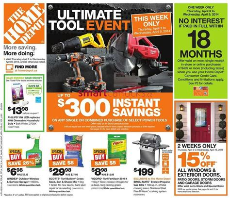 100 home depot sales ad black friday home depot