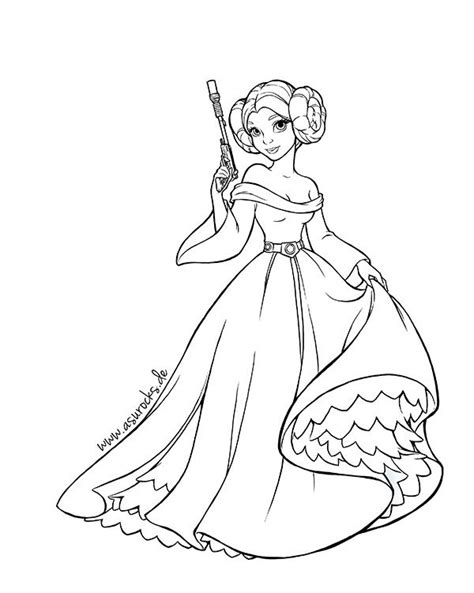 disney coloring pages wars wars princess leia coloring pages search