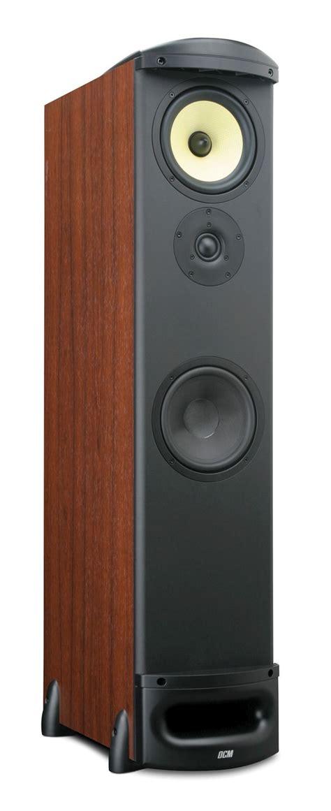 tfe cherry dcm tower speaker mtx audio