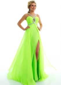 lime green prom dress prom dresses pinterest lime