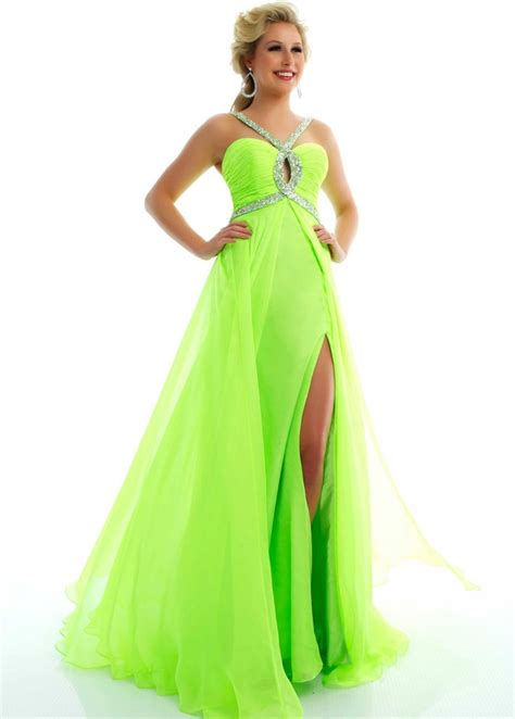 Bright Green Prom Dresses - lime green prom dress prom dresses