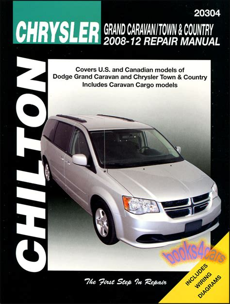 car service manuals pdf 2008 dodge grand caravan free book repair manuals chrysler town country dodge grand caravan repair manual van chilton 2008 2012 ebay