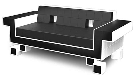 gamer sofa retro space invaders couch