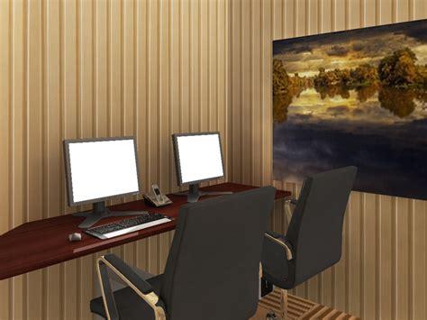 penerapan wallpaper  kantor nirwana deco jogja