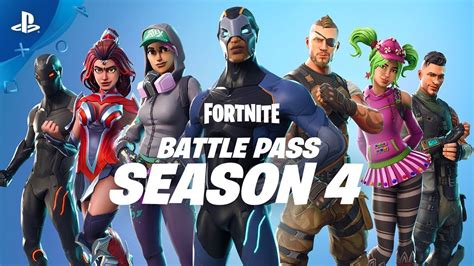 fortnite season 4 fortnite season 4 battle pass available trailer pc