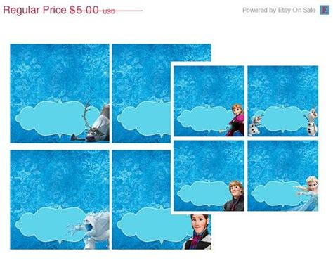frozen tent cards templates frozen printables food tents invitations ideas