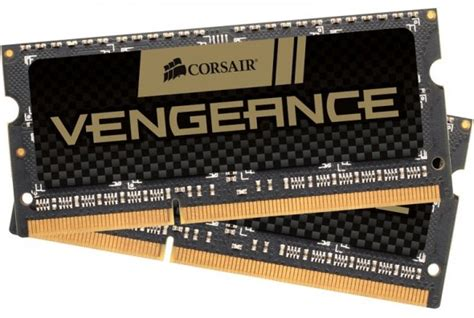 Corsair So Dimm Ddr3 16gb Pc12800 Cmsx16gx3m2b1600c9 2x8gb best ram memory for laptops and macbooks