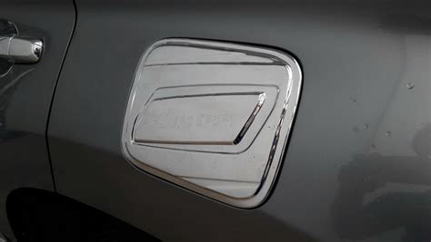 All New Innova Tank Cover Exclusive Chrome chrome cap tank cover trim for mitsubishi pajero sport 2016 install with 3m ebay