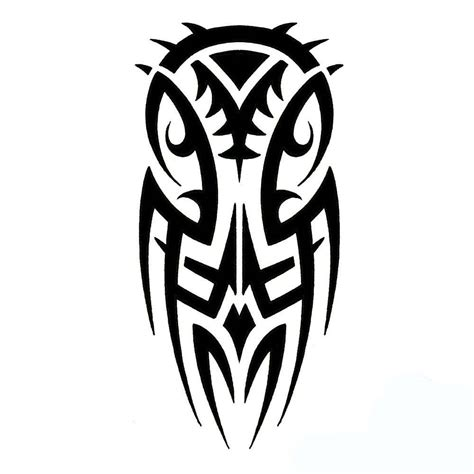 tribal owl design clipart best