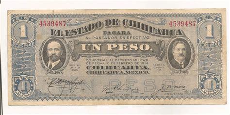 el peso de los 8416328617 el estado de chihuahua un peso seriel junio 1915 serial number 4539487 ebay