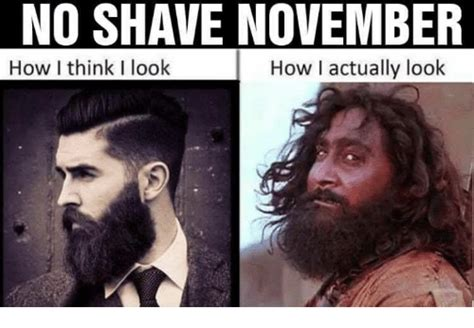 No Shave November Meme - 25 best memes about no shave november no shave november