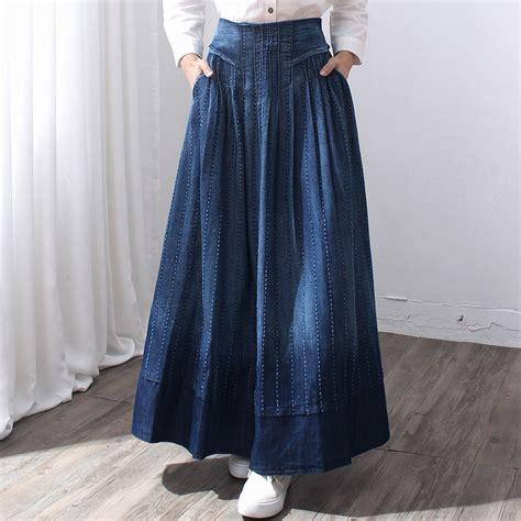 free shipping 2016 new fashion maxi a line skirts