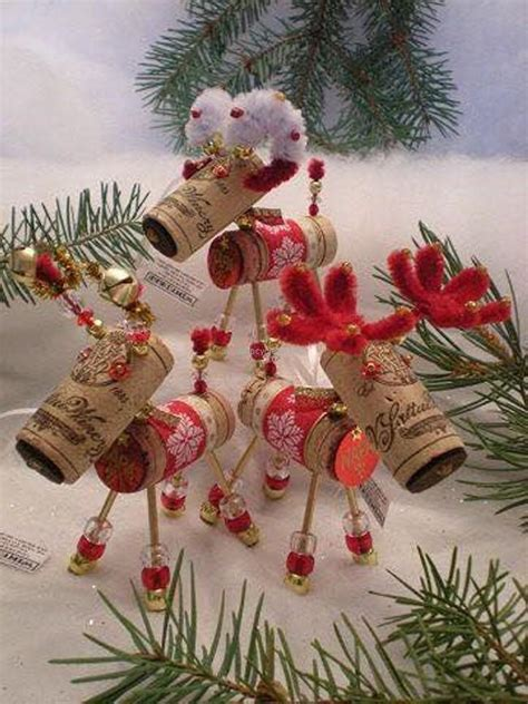 christmas ideas for wine corks crafts made with wine corks upcycle