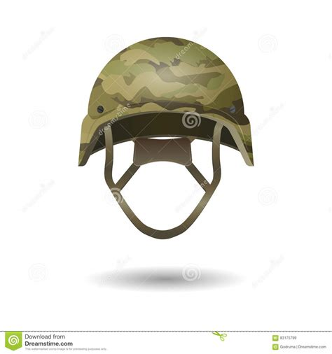 hunting hat coloring page camouflage green khaki military helmet royalty free