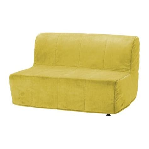 ikea sofa bed cover lycksele lycksele two seat sofa bed cover hen 229 n yellow ikea